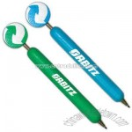 Green recycle - Eco-friendly wooden ballpoint pen with display top