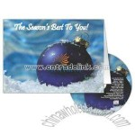 Greeting card and CD