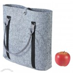 Grey Felt Tote Bag