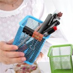 Grid Metal Pen Holder