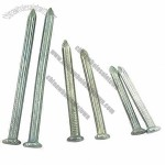 Grooved Shank Galvanized Concrete Nails