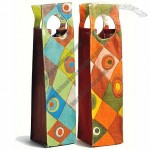 Groovy Picnic Wine Totes