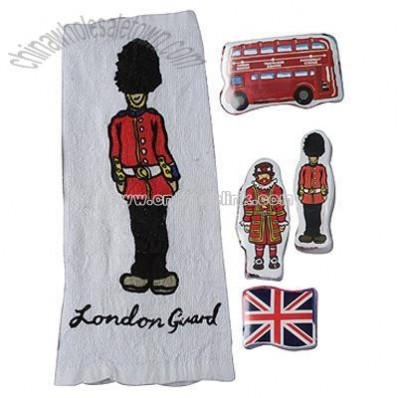 Guard/beefeater Magic Towels