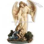 Guardian Angel With Children (8.5 inch)