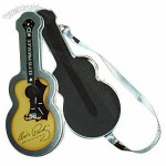 Guitar Shaped Tin Pencil Case