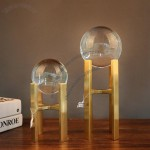 H-Column Transparent Crystal Glass Ball