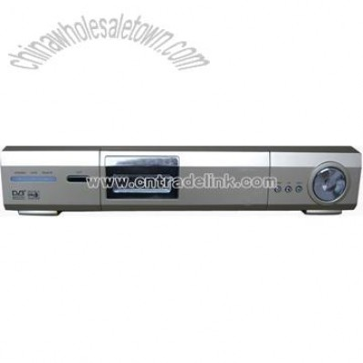 HD MPEG-4 DVB-T-S Combo Receiver with CE & ROHS