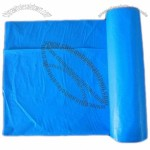 HDPE Blue Garbage Plastic Disposable Bag  in Roll