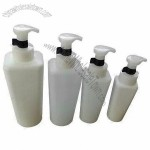 HDPE Plastic Bottles with Lotion Pump