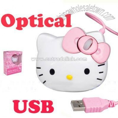 HELLO KITTY 3D USB Optical Mouse
