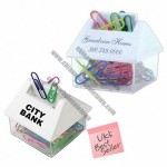 HOUSE PAPER CLIP DISPENSERS