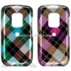 HTC Hero Crystal Case with Diagonal Check Design