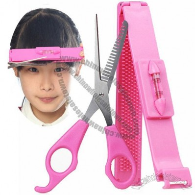 Hair Fringe Trim Scissors and Tools Set