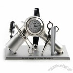 Hairdresser Equipment Desk Clock