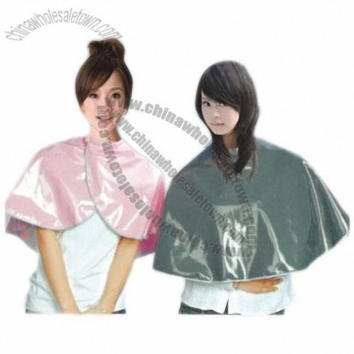 Hairdresser Hair Salon Dyeing Cape with 210T, 260T Polyester