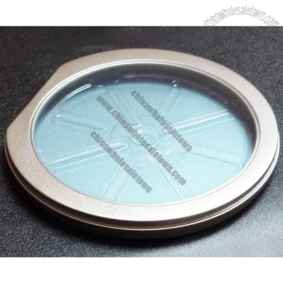 Half Round Shaped with Window Metal CD Case Box