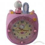 Hallo Kitty Alarm Clock with Melody Alarm Sound with Rotating Character