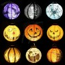 Halloween Paper Lantern with LED Light