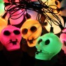 Halloween Skull String Lights Ornaments