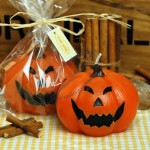 Halloween Small Pumpkins Candle