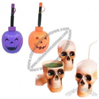 Halloween Straw Cup