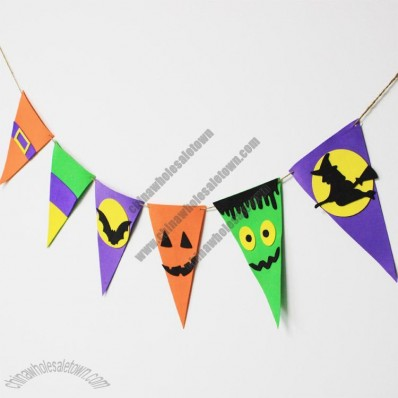 Halloween Triangle Flash Set - Witches, ghosts, bats, pumpkins