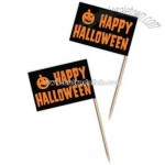 Halloween flag picks