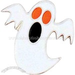 Halloween ghost lapel pin