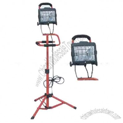 Halogen Lighting/Lamp with Safety Tripod