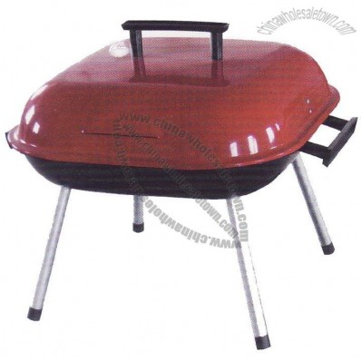 Hamburge Charcoal BBQ Grill for 14 Inch