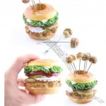 Hamburger Dessert Fork Set