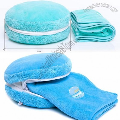 Hamburger Warm Hand Pillow Air Conditioning Blanket