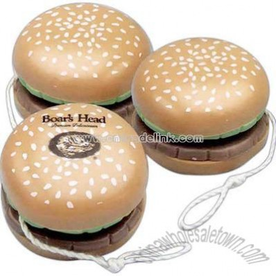 Hamburger design yo-yo