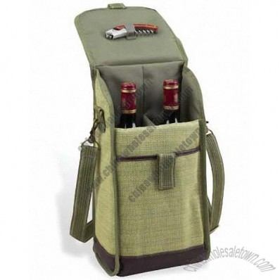 Hamptons Two Bottle Carrier