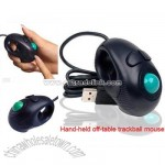 Hand-Held 4D Off-Table Trackball Mouse