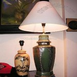 Hand Made Vase Lamp