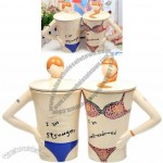 Hand Painted Sexy Man/Lady Ceramic Lovers Mugs