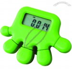 Hand Shaped Pedometer With Stopwatch