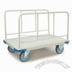 Hand Truck with Side Rail and Powder Coating