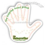 Hand shaped adhesive sticky notes