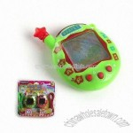 Handheld Game with Infrared Electronic Virtual Pet Toy
