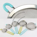 Handle anti-scald Oil/Juice/Flour Sieve