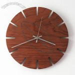 Handmade Fashion Personality Wooden Wall Clock