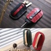 Handmade Genuine Leather Car Key Case Cover Holder