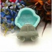 Handmade Soap Molds Soap Mould Biscuit Mold Square Mold Novelty Car