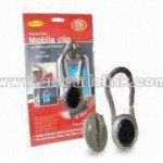 Handsfree Mobile Clip With Flashlight