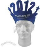 Happy New Year foam pop-up visor
