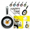 Happy Time Clock Pan, Creative Wall Clock