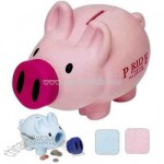 Happy pig shape bank