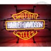 Harley Davidson Motorcycle Neon Sign